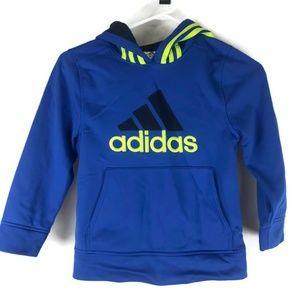 Adidas Sweatshirt Hooded Boys Size 7